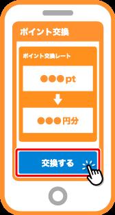 ポイント交換サービスで、FamiPayへポイントを交換します。(ポイント交換サイトなど)