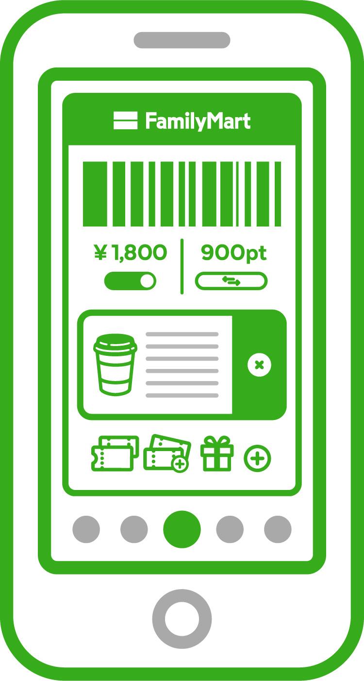 ホーム画面に選択した回数券が表示されます。